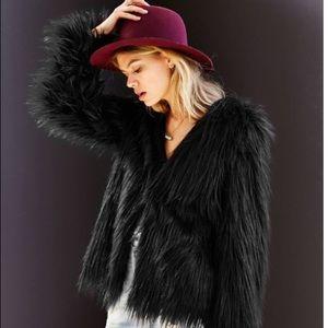 Ladakh x UO faux fur jacket